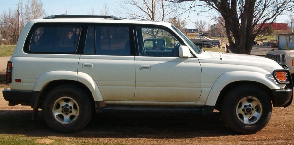 1994 Toyota LandCruiser Damage 006